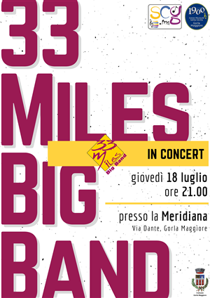 33 Miles Big Band in concert